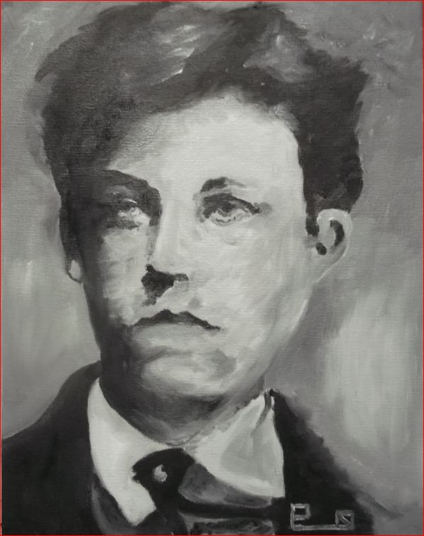 Arthur Rimbaud par Picapenko
